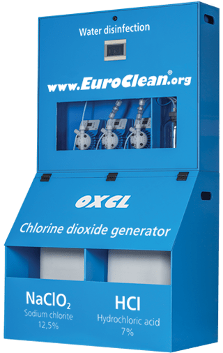 Chlorine dioxide generator EuroClean OXCL