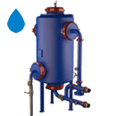 Electrolytic water treatment KEUV-CV